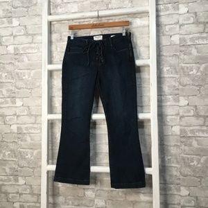 Frame Le Crop Mini Boot Jeans Size 27